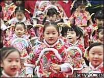 南京某幼兒園的小孩(資料圖片)