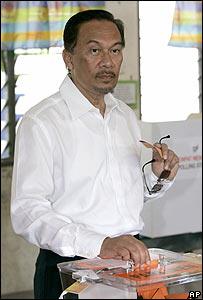 馬來西亞前副總理安瓦爾