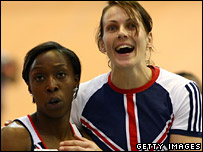 Jeanette Kwakye and Kelly Sotherton