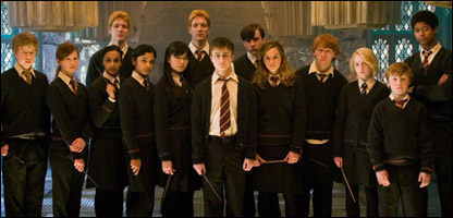 Dumbledore's Army from Harry Potter and the Order of the Phoenix