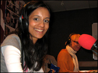 Sonali in the School Report studio