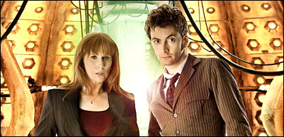 Catherine Tate as Donna and David Tennant as the Doctor (Photo: BBC/Adrian Rogers)