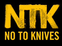 No To Knives logo