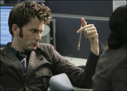 David Tennant as the Doctor (Photo BBC/Adrian Rogers)