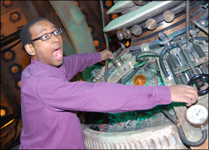 Lizo in the Tardis