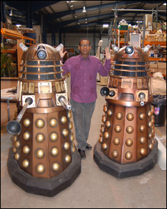Lizo with Daleks