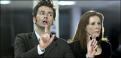 The Doctor and Donna in Partners in Crime