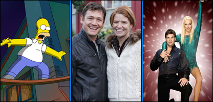 The Simpsons, EastEnders and Strictly Come Dancing