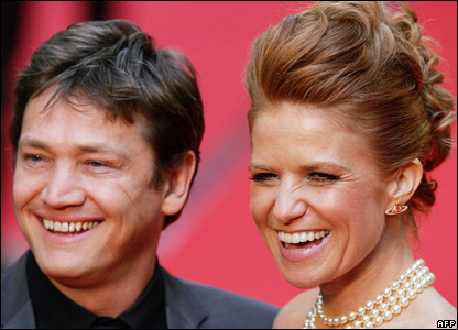 Sid Owen and Patsy Palmer