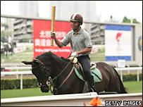 香港舉行奧運火炬傳遞演練(18/4/2008)