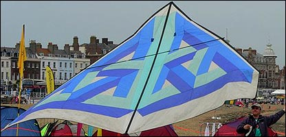The Kite Festival in Weymouth, Dorset