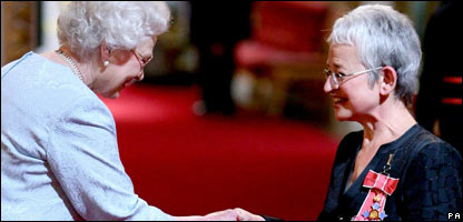 The Queen and Jacqueline Wilson