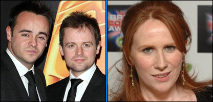 Ant, Dec and Catherine Tate