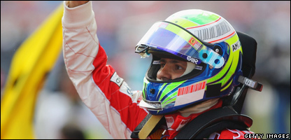 Felipe Massa of Brazil and Ferrari