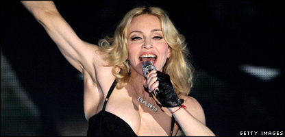 Madonna performs on the Main Stage on the first day of the Radio 1 Big Weekend