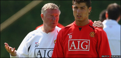 Will Manchester United boss Alex Ferguson be able to persuade Cristiano Ronaldo to stay?