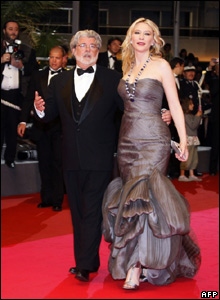 George Lucas and Cate Blanchett
