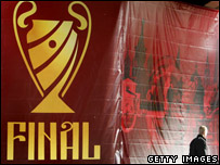 Champions League final logo