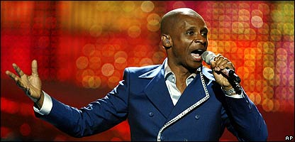 Andy Abraham is singing for Britain