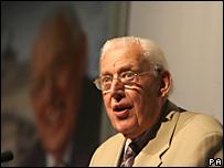 行將卸任的北愛爾蘭民主統一黨領袖佩斯利(30/5/2008)