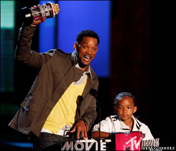 Will Smith with his son Jaden