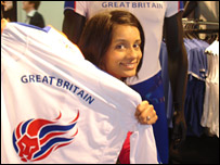 Sonali checks out Team GB's new kit for the Beijing Games