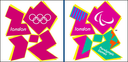 London 2012 Olympics and Paralympics logos