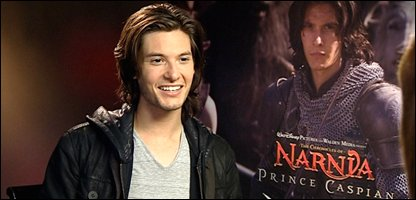 Ben Barnes, who plays Prince Caspian