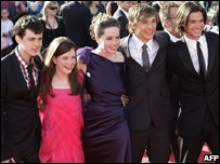 The young stars of Prince Caspian