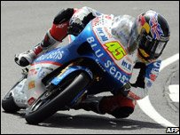 Scott Redding during the race