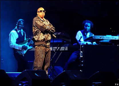 On Saturday night Jay-Z was the headline act on the Pyramid Stage. He wowed the crowd with a triumphant performance to win over critics who claimed a hip-hop act should not headline the festival.
