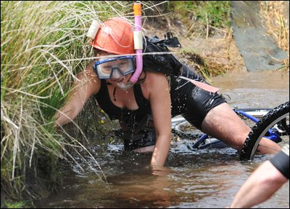 World Mountain Bike Bog Snorkelling Championships