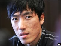 Liu Xiang is a massive celeb in China!