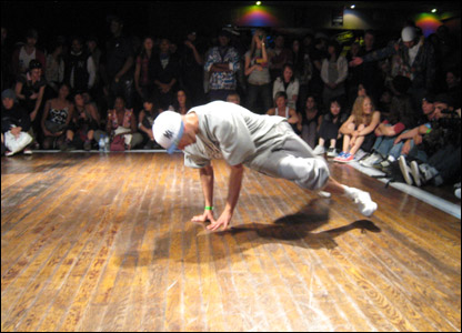 The UK B-Boy championships