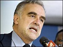 國際刑事法院的檢察官莫雷諾-奧坎波(14/7/2008)
