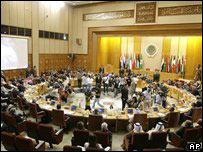 開羅舉行的阿拉伯國家聯盟外長緊急會議(19/7/2008)