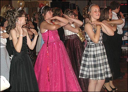 A prom night isn't complete without lots of dancing!