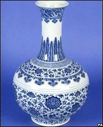 清乾隆年間花瓶