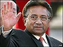 巴基斯坦總統穆沙拉夫(08年4月)