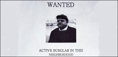 The 'wanted' poster