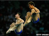 Blake Aldridge and Tom Daley