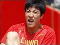 劉翔退出比賽無緣衛冕