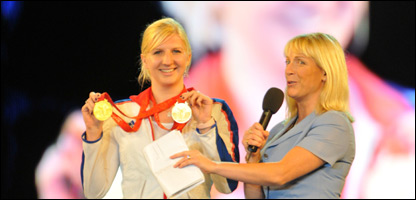 Rebecca Adlington opens the UK School Games