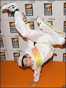 And Britain's Got Talent winner George Sampson cut some moves on the orange carpet.