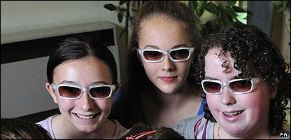 Children wearing glasses