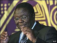 津巴布韋反對黨領袖茨萬吉拉伊