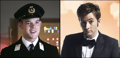 Russell Tovey and David Tennant