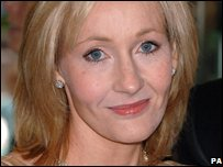 JK Rowling Photo: Ian West/PA Wire