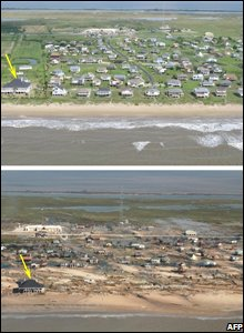 Bolivar Peninsula, Texas Photo credit should read HO/AFP/Getty Images