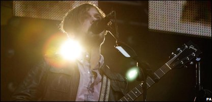 Caleb Followill of The Kings of Leon (Photo: Yui Mok/PA Wire